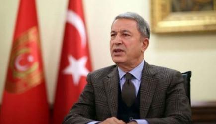 Hulusi Akar, Özbekistan Güvenlik Kurulu Genel Sekreteri ile Bir Araya Geldi