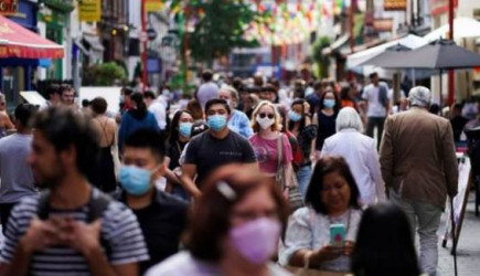 İngiltere Vaka Sayısında 20 Bini Geçti