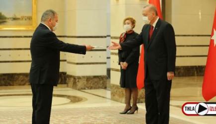 İspanya Büyükelçisi, Cumhurbaşkanı Erdoğan'ı Ziyaret Etti