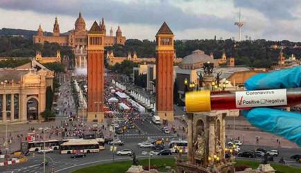 İspanya'da Covid-19 vaka sayısı 1 milyona yaklaştı