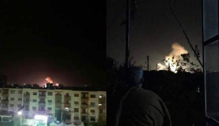 İsrail'den Şam'a Saldırı