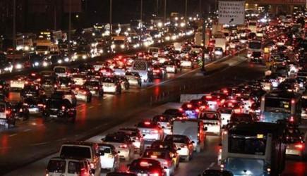 İstanbul'da Tatil Trafiği Başladı