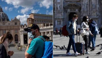 İtalya'da Ölü Sayıları Artmaya Devam Ediyor