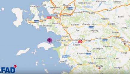 İzmir'de Şiddetli Deprem