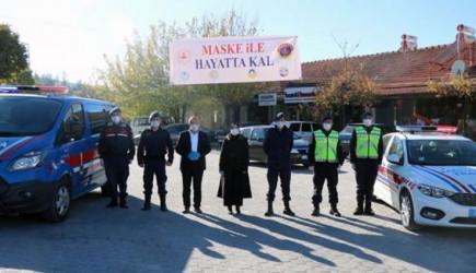 Jandarmadan Kovid-19'a Dikkat Çeken Proje