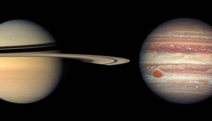 Jüpiter ve Satürn Yüzyıllar Sonra Birleşecek