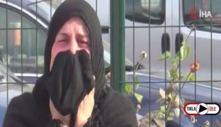 Kayseri'de Bir Kadın Evinin Yanışını Ağlayarak İzledi