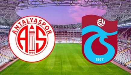 Maç Sona Erdi! Antalyaspor 1-1 Trabzonspor