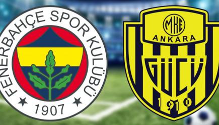 Devre Arası! Fenerbahçe 2-0 Ankaragücü