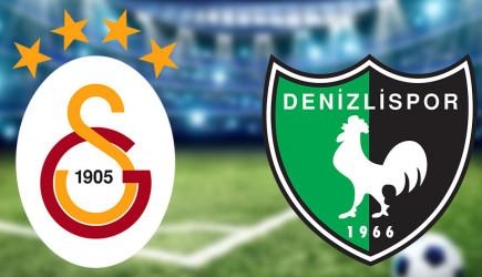 Maç Başladı! Galatasaray-Denizlispor