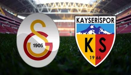 Maç Başladı! Galatasaray - Kayserispor
