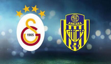 Gooool! Galatasaray 1-0 MKE Ankaragücü