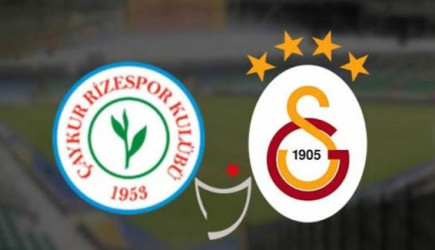 Goool! Çaykur Rizespor 0-1 Galatasaray