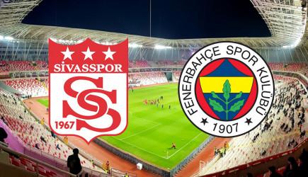 İkinci Yarı Başladı! Sivasspor 1-1 Fenerbahçe
