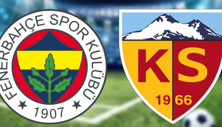 Maç Sona Erdi! Fenerbahçe 3-0 Kayserispor