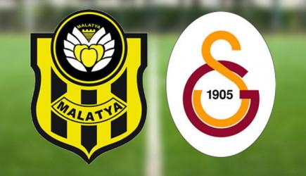 Maç Başlıyor! Yeni Malatyaspor-Galatasaray