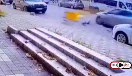 Maltepe'de Motosiklet Kazası!