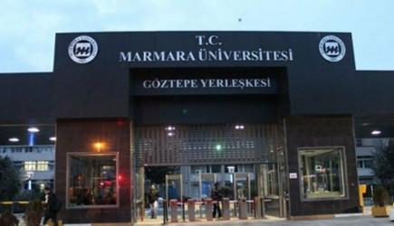 Marmara Üniversitesi'nde Rezillik!