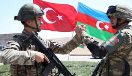 Mehmetçik, Azerbaycan'a Ayak Bastı