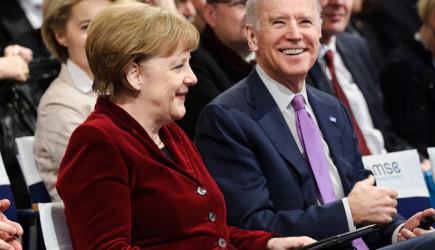 Merkel'den Biden'a Kutlama Telefonu