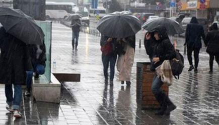 Meteoroloji Uyardı! Yarın Sağanak Yağış Bekleniyor