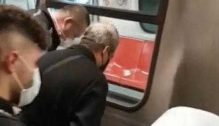 Metro Raylarına Düşen Genç Kızın Üzerinden 2 Vagon Geçti