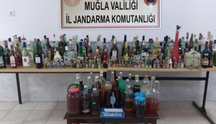 Muğla'da Sahte Alkol Operasyonu: 16 Gözaltı