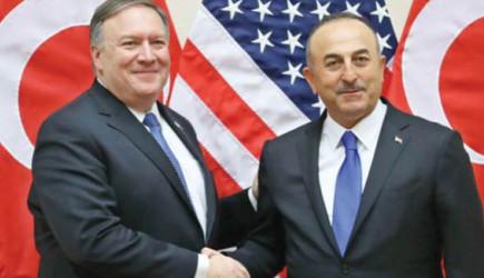 Nato Toplantısında Pompeo ve Çavuşoğlu Arasında Gerilim Yaşandı