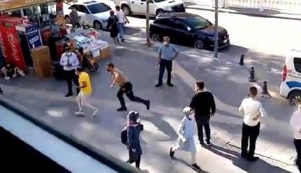 Niğde'de Polis ve Vatandaş Arasındaki Maske Kovalamacası Dikkat Çekti