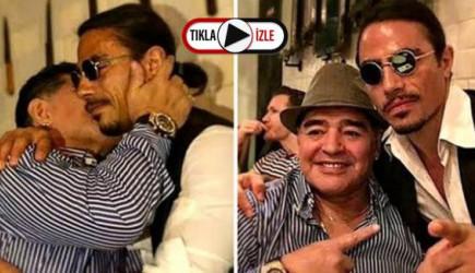 Nusret Gökçe, Efsane Futbolcu Maradona'nın Masasını Kalıcı Olarak Rezerve Etti