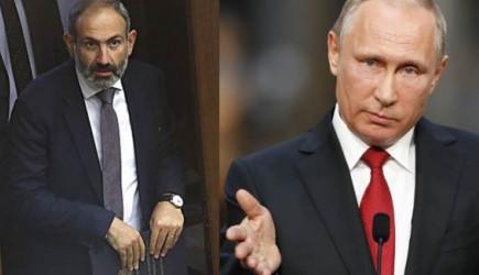 Paşinyan'dan Putin'e Teşekkür! | Haber365.com.tr