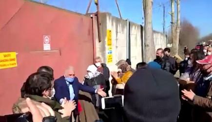 Samsun'da, Termik Santral Karşıtı Topluluktan Protesto