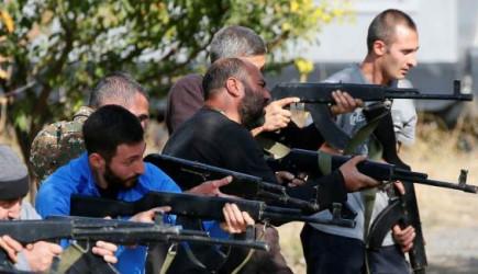 Savaşı Kaybeden Ermenistan Sivilleri Cepheye Sürüyor