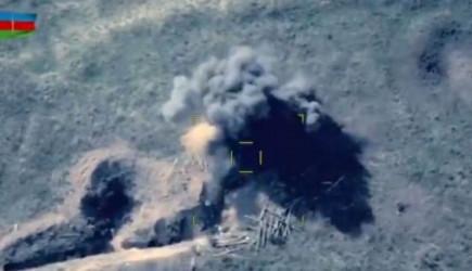 SİHA'lar Ermeni Mevzilerini Dağıtmaya Devam Ediyor