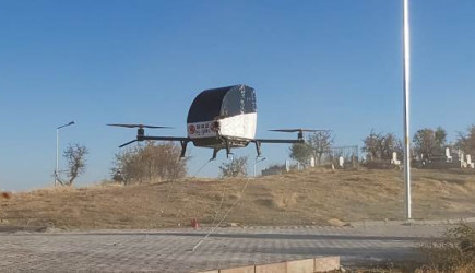 Siirtli Vatandaş Kendi İmkanlarıyla Uçan Araba Yaptı