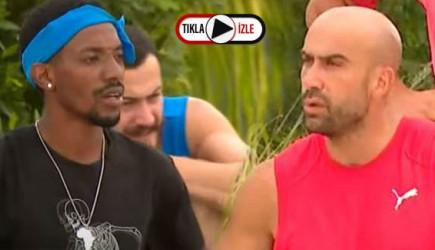 Survivor'da Steven Salam'ın Dil Çıkarması Çağrı Atakan'ı Çıldırttı