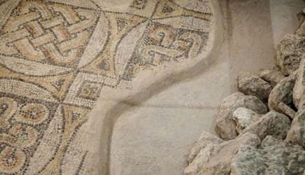 Tarih Harikası Mozaikler Koruma Altında