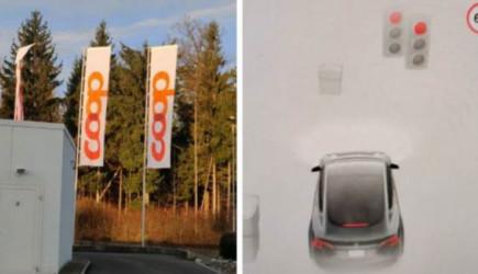 Tesla Otomatik Pilotu, Bayrağı Trafik Işığı İle Karıştırdı