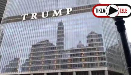 Trump ile Görüşmek İsteyen Şahıs Kendisini Trump Tower'dan Sarkıttı
