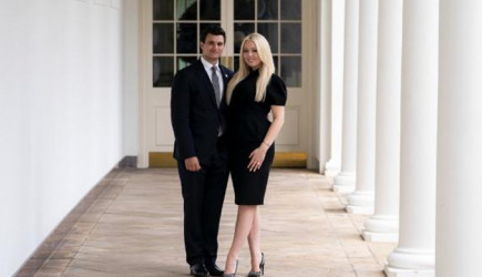 Trump Veda Öncesi Beyaz Saray'da Kızını Nişanladı!