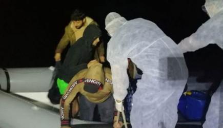 Türk Karasularında 47 Sığınmacı Kurtarıldı
