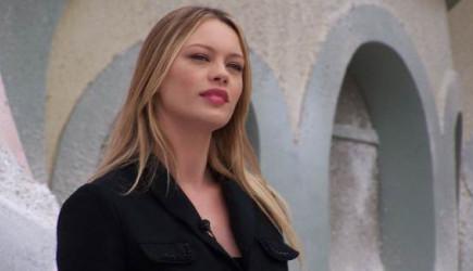 Ünlü Model Anna Falchi Lazio'nun Galibiyeti Sonrası Çırılçıplak Poz Verdi