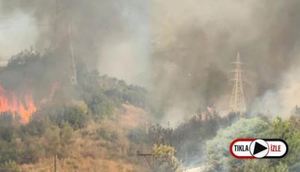 Hatay'daki Yangın Yerleşim Alanlarına Sıçradı