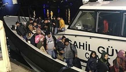 Yunanistan Geri Gönderdiği 78 Sığınmacı Kurtarıldı