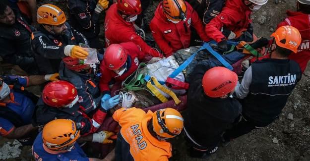 26 Saatlik Bekleyişte Son! 62 Yaşındaki Halim Sarı Kurtarıldı