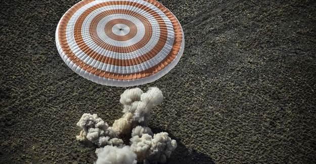 6 Aylık Görevden Sonra Soyuz MS-16 Dünya'ya İndi