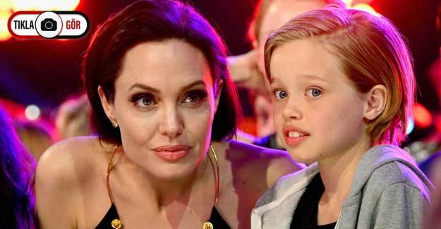 Angelina Jolie, Kızı Shiloh ile Görüntülendi