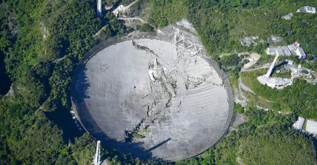 Arecibo Gözlemevi Çöktü
