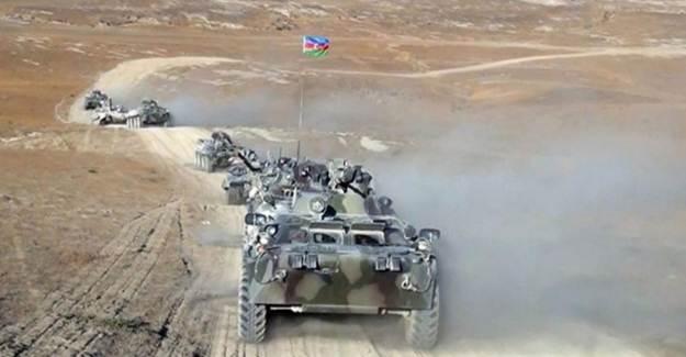 Azerbaycan Ordusu Pek Çok Hedefi İmha Etti