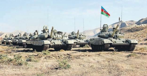 Azerbaycan Ordusu Suşa'yı Kuşattı